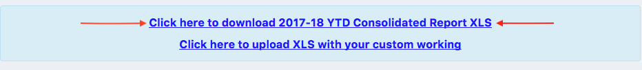 Download XLS Report