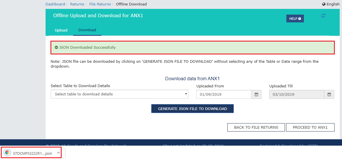 ANX 1 JSON Downloaded