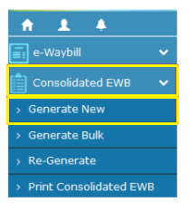 E-Way Bill Cons
