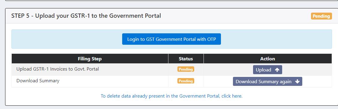 Login to the GST Portal through GSTZen